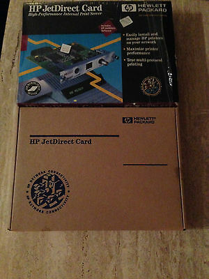 HP Jet Direct Card J2552-60003~LIKE NEW IN BOX~DRIVERS~FREE SHIPPING!