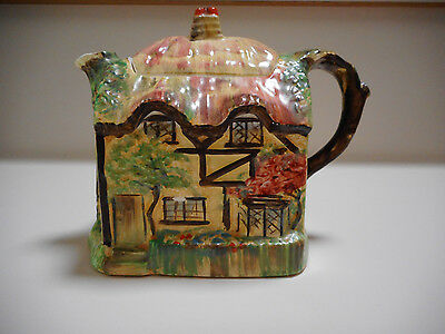 Royal Winton Grimwades 'Olde England'  Rare Hand Painted Teapot
