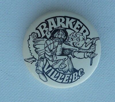 Barkerville BC Lapel Hat Pin Button