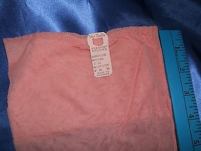 Seamed Pink  Nylons