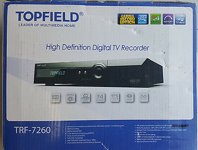 Topfield TRF-7260  Receiver With Bonus 1TB Hard Drive