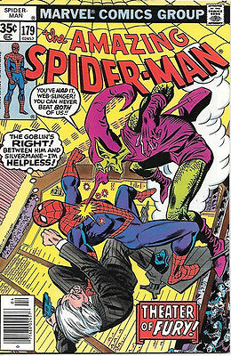 the Amazing Spider-Man Comic Book #179, Marvel Comics 1978 NEAR MINT