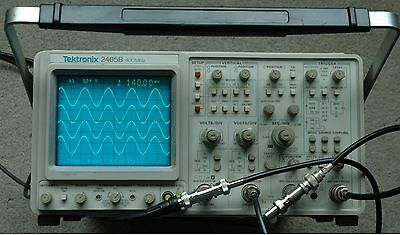 Tektronix 2465B 400 MHz Oscilloscope, Calibrated, Good Condition, 30day Warrenty