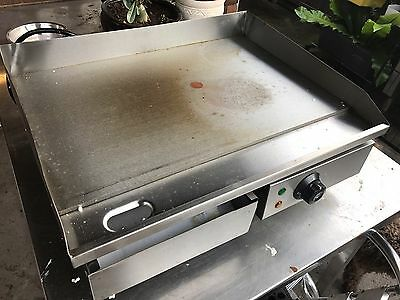 NEW Electric Griddle Countertop Grill Hot Plate Stainless Steel Commercial BBQ