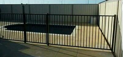 Flat Top Pool Fencing Brand New