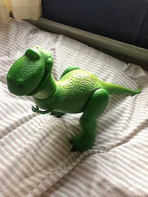 Toy Story Very Large Thinkway Poseable Rex.