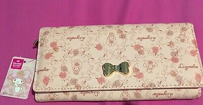 Sanrio My Melody Lizmelo Long Wallet From Japan