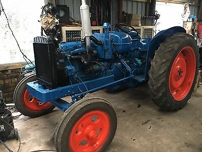 fordson major tractor unfinished project classic tractor