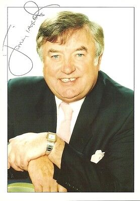 Jimmy Tarbuck Hand Signed Card