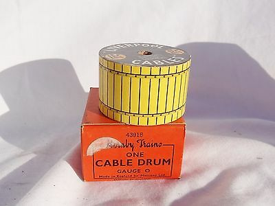211: Vintage Hornby  O Gauge Boxed Liverpool Cables Cable Reel