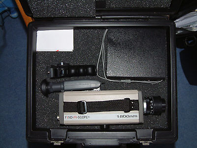 Infra Red Camera FIND-R SCOPE 85400A  400nm -1800nm with view finder & video out