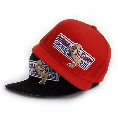 2016 New Bubba Gump Shrimp CO Hat Forrest Gump Costume Embroidered Snapback Cap