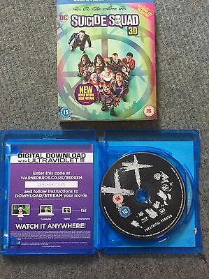 suicide squad 3D Blu Ray