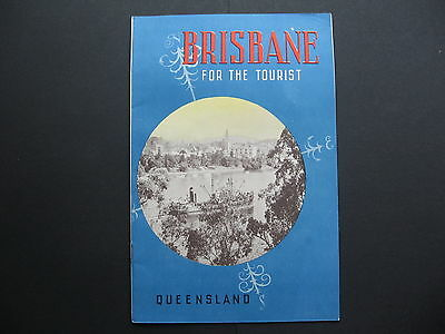 Brisbane For The Tourist Brocher ALL PAGES PICTURED
