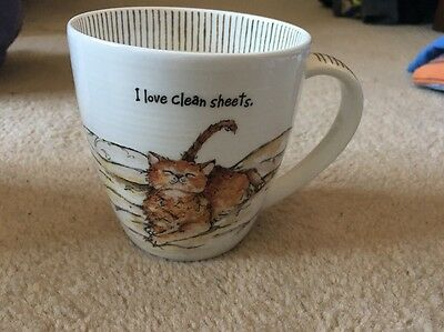 Moggie China Cup( I Love Clean Sheets )