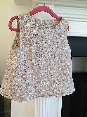 Caramel Baby And Child Girls Liberty Print Blouse Age 6Y