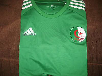 Maillot de foot algerie 2016 taille XL neuf