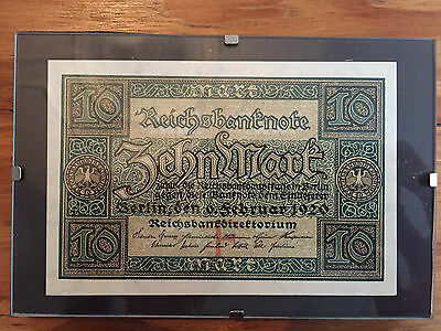 Banknote German 10 Mark Feb 1920  - mint condition uncirculated
