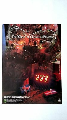 """The Police """"the Ghost Of Christmas Past"""" '81,rare Original Print Promo Poster Ad"""
