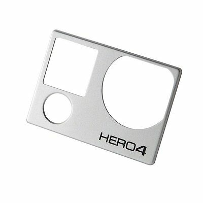 Faceplate Frame Front Cover Housing Repair Parts for GoPro Hero 4 Black/Silver