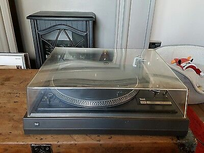 DUAL-505 belt driven turntable/record player