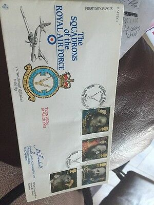 RAF--FDC1--THE SQUADRONS OF THE ROYAL AIR FORCE--No0922 OF 1177---SIGNED COVER