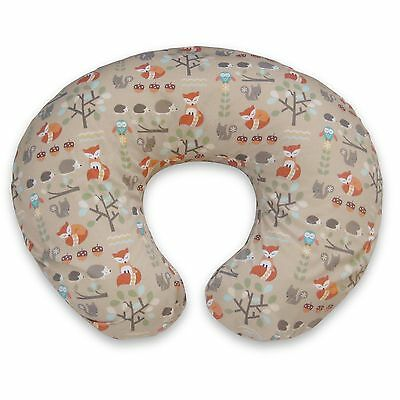 New BOPPY Classic Slipcover Support Pillow Cover Fox Forest Brown Nib 3100132