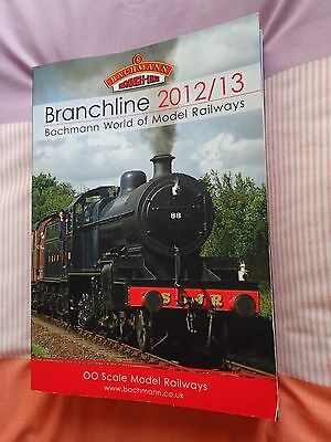 """Bachmann 2012/13 """"OO"""" Catalogue with price list. In excellent condition."""