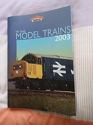 """Bachmann 2003 """"OO"""" Catalogue with price list. Used but in excellent condition."""