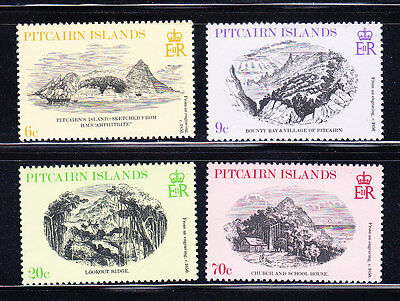 Pitcairn Is, 1979 Engravings Scott 184-7, MNH, Lot 6410