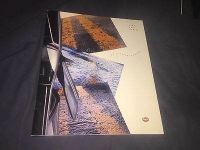 1990 Audi  90 100  V8 200 Full Line  USA Color Brochure Catalog Prospekt