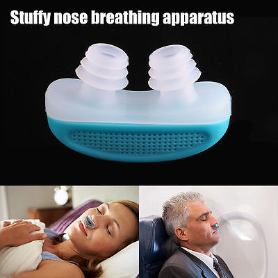 NEW Snore Nose Stop Snoring Apnea Guard Care Sleeping Aid apparatus Relieve Gift