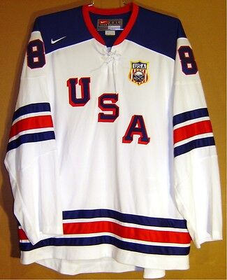 Team Usa Joe Pavelski White Hockey Jersey