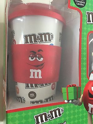 M&m's Red Character Limited Edition 12 Oz Ceramic Travel Mug 2016