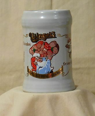 Usinger's Sausage 100th Aniversary Adversising Ceramic Beer Stein