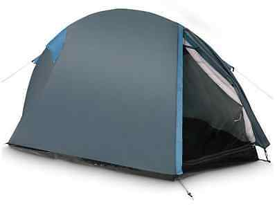 2 Man Tent Waterproof Lightweight Resistant two person Festival Outdoor Blue New