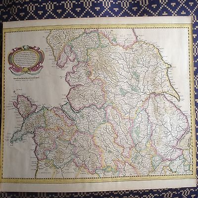 Mercator-Hondius(Map of North Wales and the potteries)