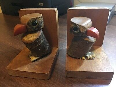 Great Set Of Vintage Owl Bookends. British Made. Have A Look!