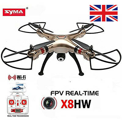 Syma X8HW Quadcopter with HD Camera and Auto-hover