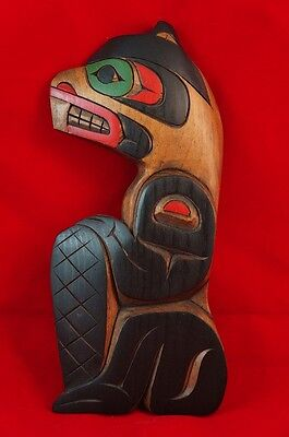 First Nations Fine Carving Beaver Dave Harper 1992