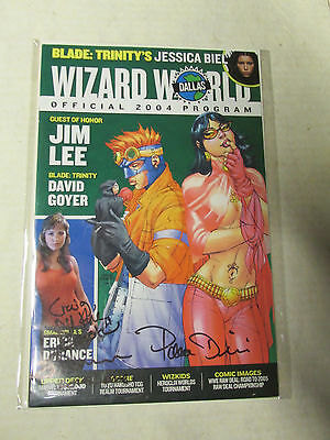 Wizard Wolrd Dallas 3 Autographs On Cover