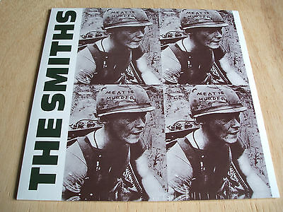 the smiths  meat is murder  vinyl lp  official reissue    mint sealed brand new