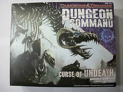 Dungeons & Dragons - Dungeon Command - Curse of Undeath - Faction-Pack - Neu&OVP