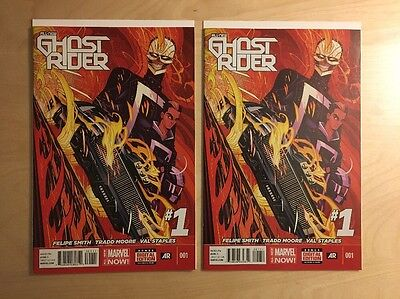All New Ghost Rider 1 (x2) Marvel 2014 1st Printing 1st Appearance Robbie Reyes