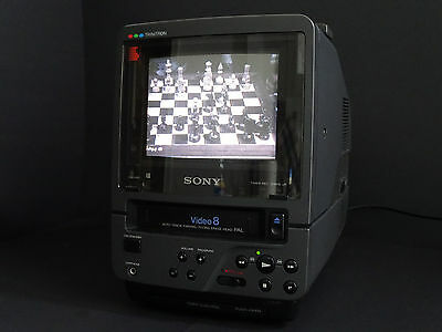 Sony EV-DT1 Video 8 Combo Top!  Vintage Legende