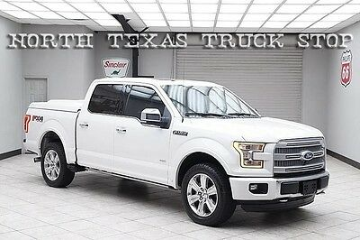 2015 Ford F-150  2015 Ford F150 Platinum EcoBoost 4x4 Pano Roof Navigation Camera 1 TX OWNER
