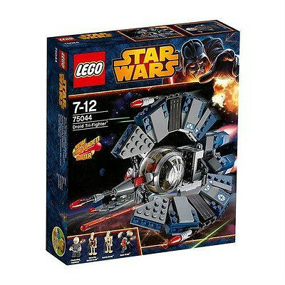 LEGO Star Wars 75044 Droid Tri-Fighter Chancellor Palpatine New Factory Sealed