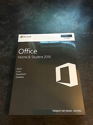 Microsoft Office home and student 2016 Word,Excel,PowerPoint And OneNote