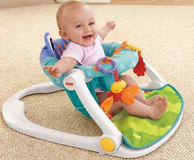 Fisher Price Sit Me Up Floor Seat Portable Chair Comfortable Baby Toys Colorful