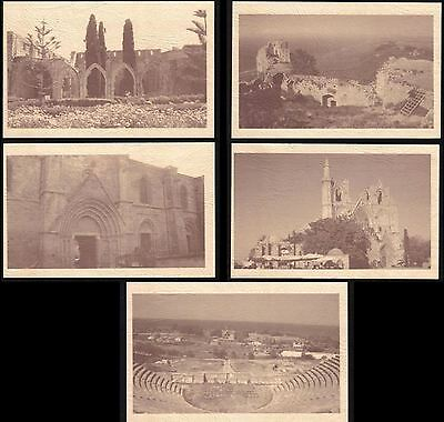 North Turkish Cyprus Stamps 5 Pre paid Official post Office Postcards 2011